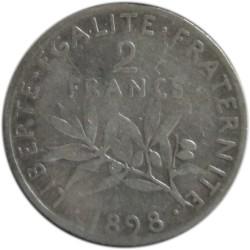 2 Francos de 1898
