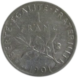 1 Franco de 1901