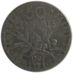 50 Céntimos de 1907