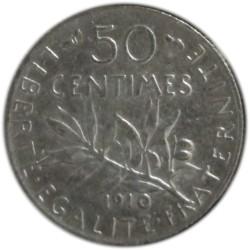 50 Céntimos de 1910