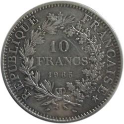 10 Francos de 1965