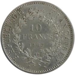10 Francos de 1967