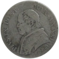 1 Lira de 1886