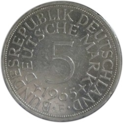 5 Marcos de 1965 F