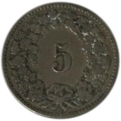 5 Céntimos de 1881