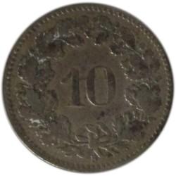 10 Céntimos de 1884