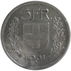 5 Francos de 1931 B