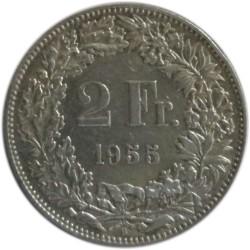 2 Francos de 1955 B