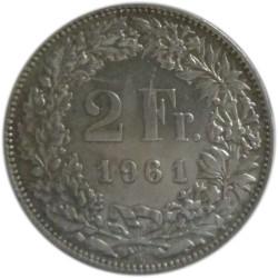 2 Francos de 1961 B