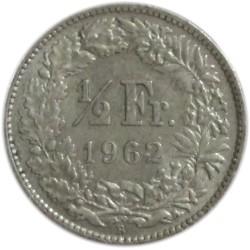 ½ Franco de 1962 B