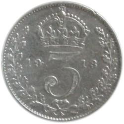 3 Peniques de 1913