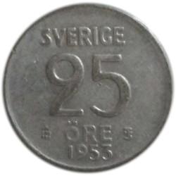25 Öre de 1953