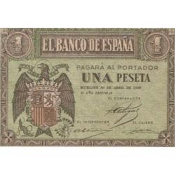 1 Pta Estado Español 30 de Abril 1938