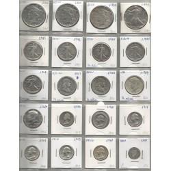 Monedas EEUU Plata