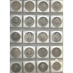 Monedas México Plata