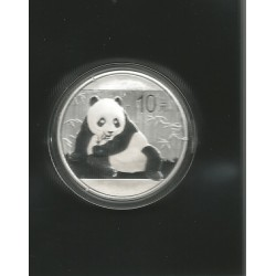 Moneda China Panda 2015 Plata