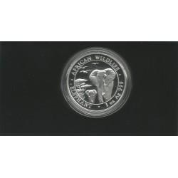 Moneda República Somalia 100 shillings año 2015