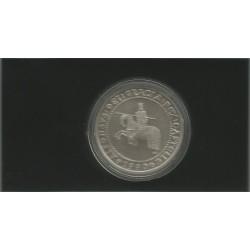 5 Ecus 1990 Plata 925 y 33,62 gr