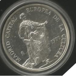 Moneda 5 Ecus año 1992 Plata 925 y 33.62 gr