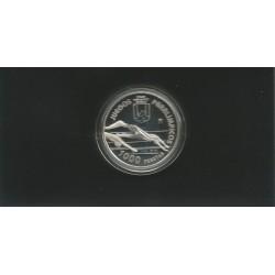 Moneda 1000 Ptas año 1996 Juegos Paraolimpicos