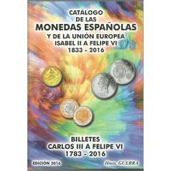 Catálogo Monedas Hnos Guerra 2016
