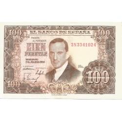 100 Pesetas del 7 de Abril de 1953