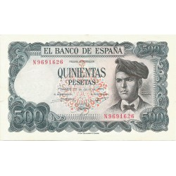 500 Pesetas del 23 de Julio de 1971