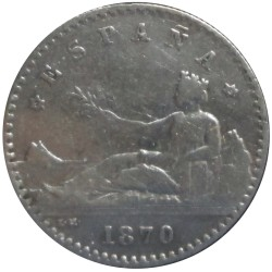 20 Céntimos  de 1870
