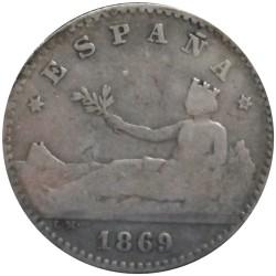 50 Céntimos de 1869