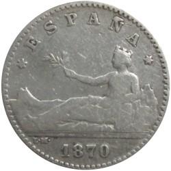 50 Céntimos de 1870