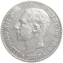 50 Céntimos de 1880