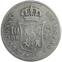 10 Centavos 1883