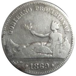 1 Peseta de 1869