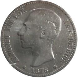 1 Peseta de 1876