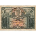 50 Pesetas del 15 de Julio de 1907
