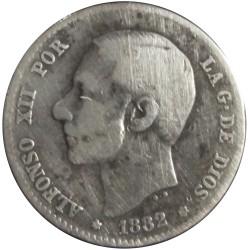 1 Peseta de 1882