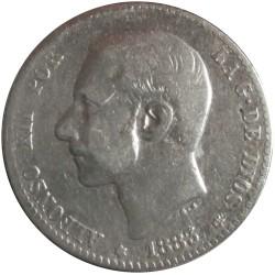 1 Peseta de 1883
