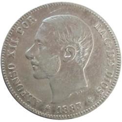 2 pesetas de 1883
