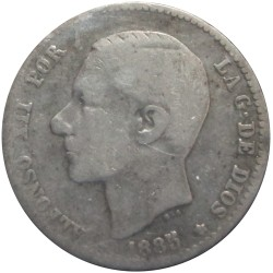 50 Céntimos de 1885