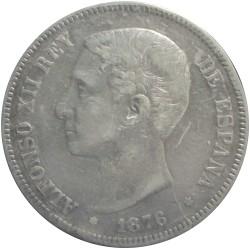 5 Pesetas de 1876