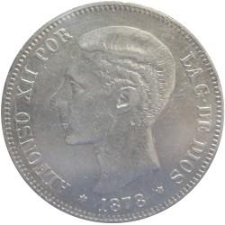 5 Pesetas de 1878