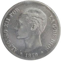 5 Pesetas de 1879