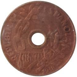 25 Céntimos de 1938