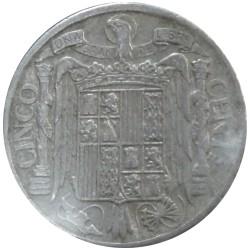 5 Céntimos de 1940 (PLVS)