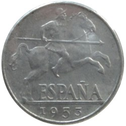 10 Céntimos de 1953