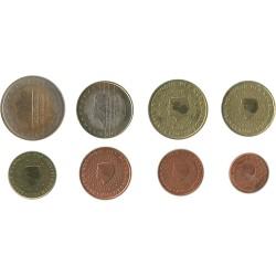Tira de 8 Monedas de Holanda