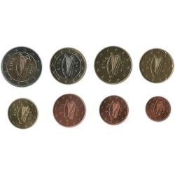 Tira de 8 Monedas de Irlanda