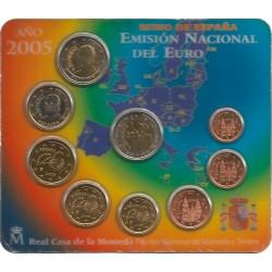Cartera de 9 Valores de España del 2005