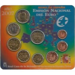 Cartera de 8 Valores de España del 2007
