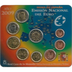 Cartera de 8 Valores de España del 2009
